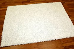 Tapis shaggy - Fancy (blanc)