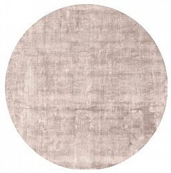 Tapis rond - Jodhpur Special Luxury Edition Viscose (gris clair/beige)