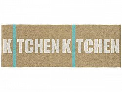 Tapis en plastique - Le tapis de Horred Kitchen (beige)