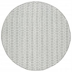 Tapis rond - Long Stitch (Gris)