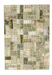 Tapis persan Colored Vintage Patchwork 230 x 160 cm