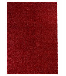 Tapis shaggy - Trim (rouge)