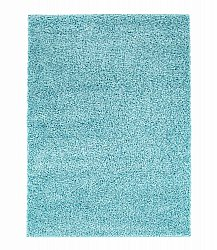 Tapis shaggy - Trim (turquoise)