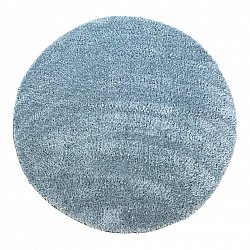 Tapis rond - Soft Shine (turquoise)