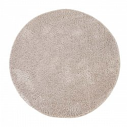Tapis rond - Soft Shine (beige)