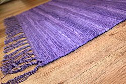 Tapis chiffons - Cotton (pourpre)