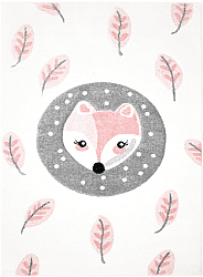 Tapis enfants - Bueno Fox (rose)