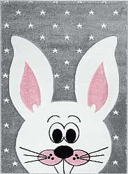 Tapis enfants - Bueno Rabbit (gris)