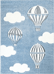 Tapis enfants - Bueno Hot Air Balloon (bleu)