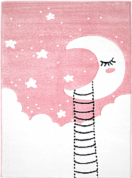 Tapis enfants - Bueno Moon (rose)