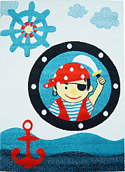 Tapis enfants - Moda Kid Pirate (bleu)