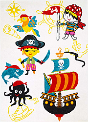 Tapis enfants - Moda Pirate (blanc)