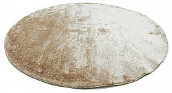 Tapis rond - Shaggy Luxe (beige)