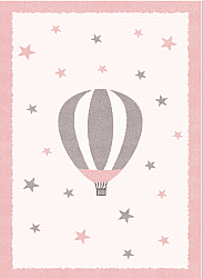 Tapis enfants - Alone Balloon (rose)