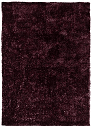 Tapis 133 x 190 cm (tapis shaggy) - Cosy (violet/prune)