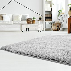Tapis shaggy - Soft Shine (gris)