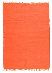 Tapis chiffons Large - Silje (orange) 170 x 240 cm