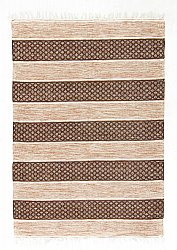 Tapis chiffons - Visby (beige)
