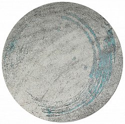 Tapis rond - Trieste (turquoise)