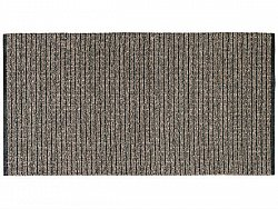Tapis de cuisine (plastique/coton) - Le tapis de Horred Uni Mix (marron)