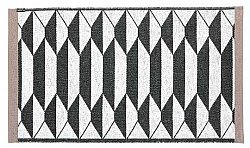 Tapis de cuisine (plastique) - Le tapis de Horred Black & White Urd