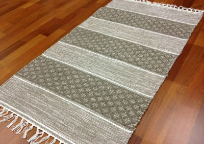 Tapis chiffons Large - Visby (line) 160 x 230 cm