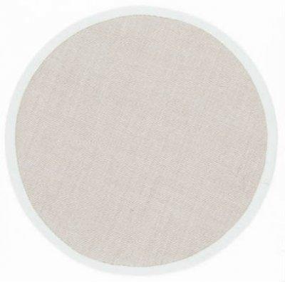 tapis rond sisal salvador beige gris clair. Black Bedroom Furniture Sets. Home Design Ideas