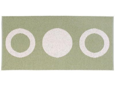 Tapis en plastique - Le tapis de Horred Circle (olive)