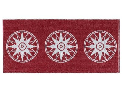 Tapis en plastique - Le tapis de Horred Compass (rouge)
