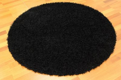 Tapis rond - Fancy (Noir)
