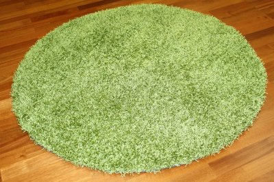 Tapis rond 200 cm - Fancy (Olive)