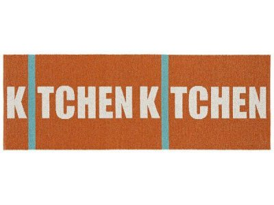 Tapis en plastique - Le tapis de Horred Kitchen (orange)
