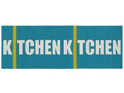 Tapis en plastique - Le tapis de Horred Kitchen (turquoise)