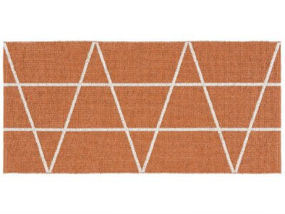 Tapis en plastique - Le tapis de Horred Viggen (orange)
