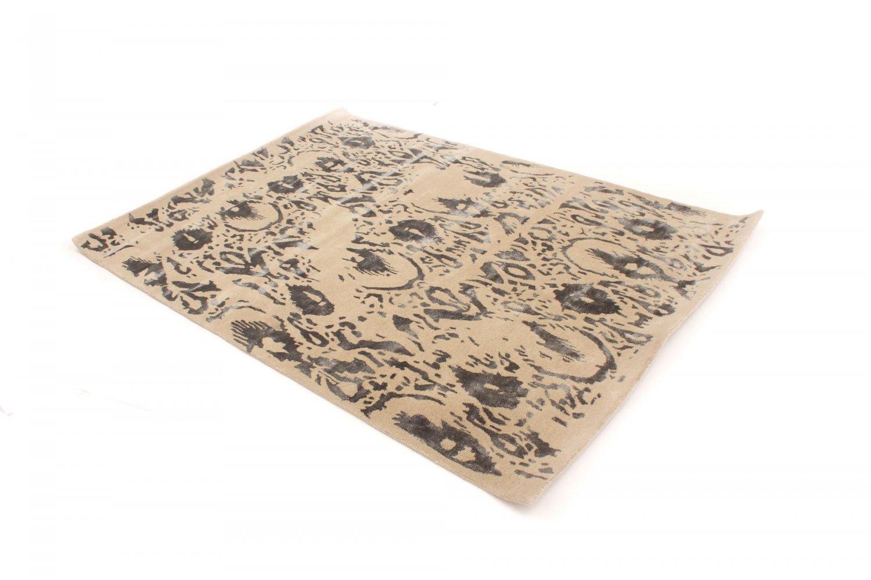 tapis de laine dolian beige gris. Black Bedroom Furniture Sets. Home Design Ideas