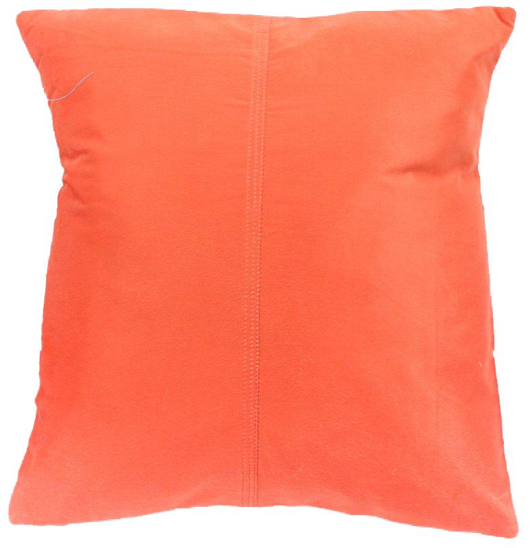 coussins en velours de soie orange housse de coussin. Black Bedroom Furniture Sets. Home Design Ideas