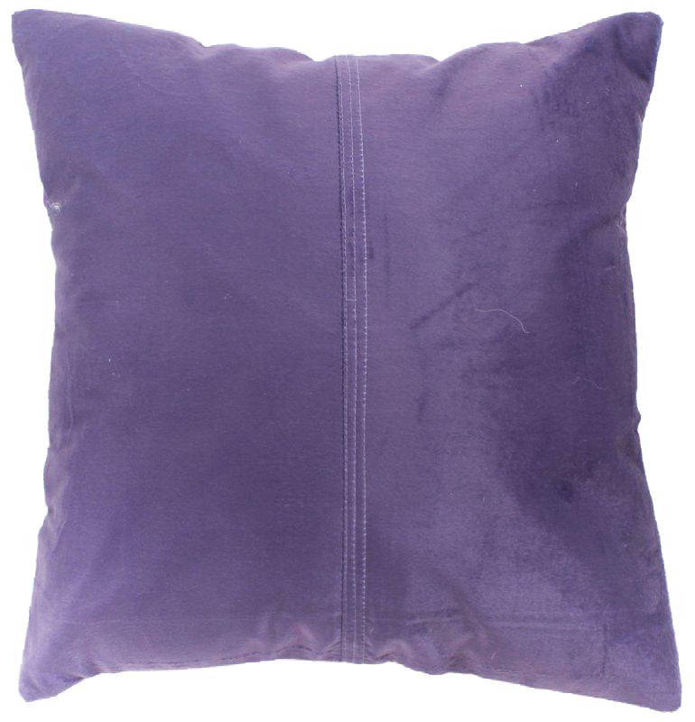 Coussins en velours de soie violet housse de coussin - Housse de coussin 45 x 45 ...