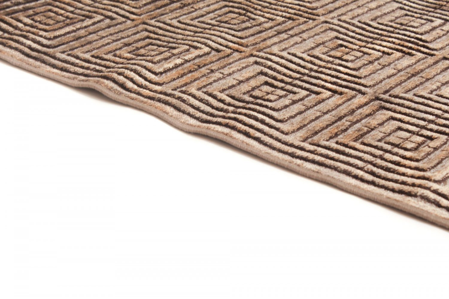 tapis 160 x 230 cm wilton abriana marron sand. Black Bedroom Furniture Sets. Home Design Ideas