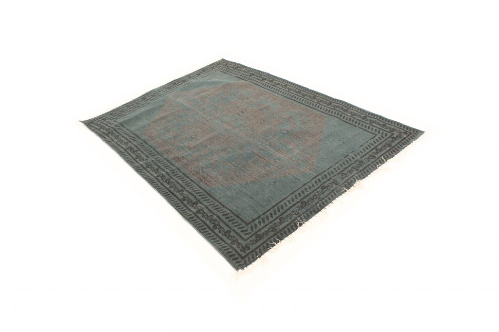 tapis chiffons arles bleu gris. Black Bedroom Furniture Sets. Home Design Ideas