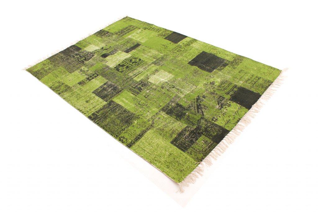 Tapis chiffons devenport vert for Tapis vert turquoise