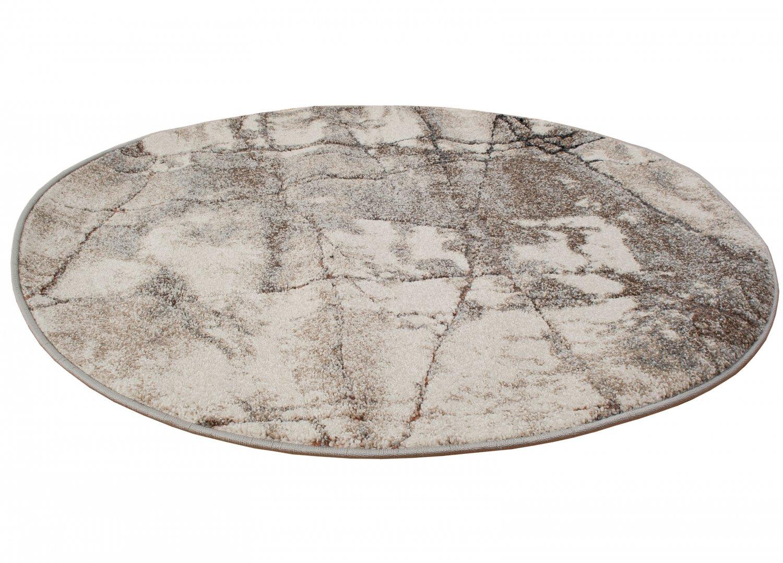 Tapis Salon Couleur Rouille tapis rond - vigo (rouille)