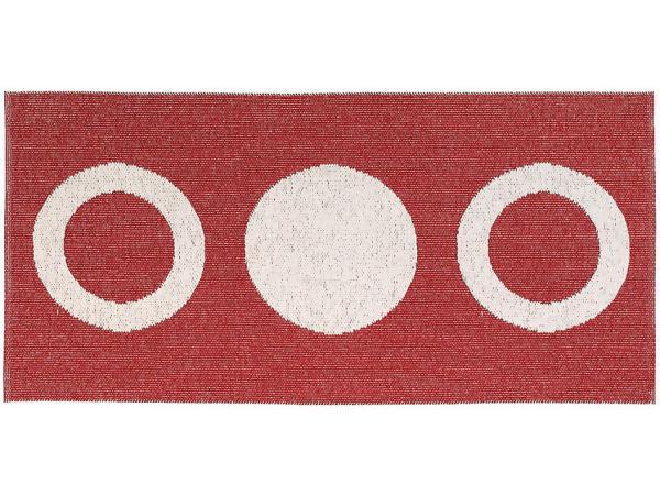 tapis en plastique le tapis de horred circle rouge. Black Bedroom Furniture Sets. Home Design Ideas