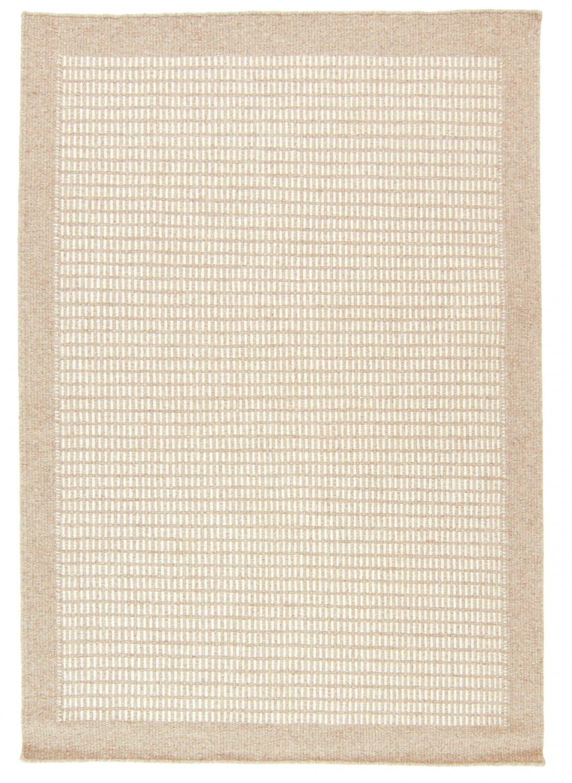Tapis De Laine Luxor Beige Blanc Trendcarpet Fr