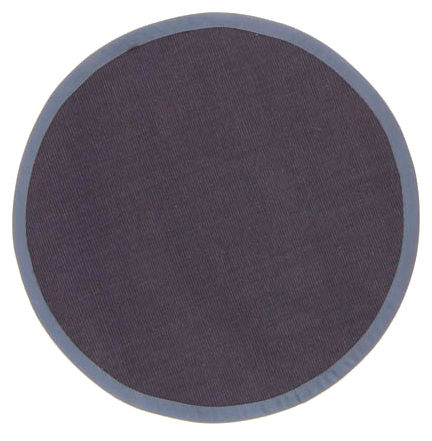 tapis rond sisal manaus bleu fonc. Black Bedroom Furniture Sets. Home Design Ideas