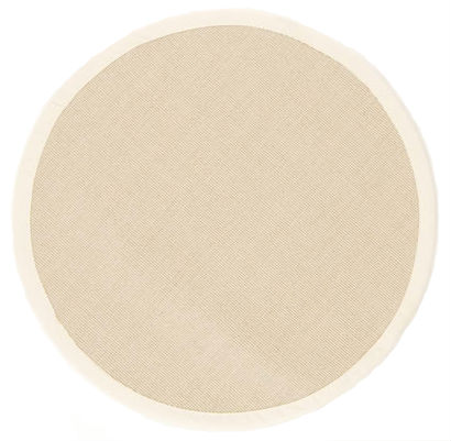tapis rond sisal salvador beige clair. Black Bedroom Furniture Sets. Home Design Ideas