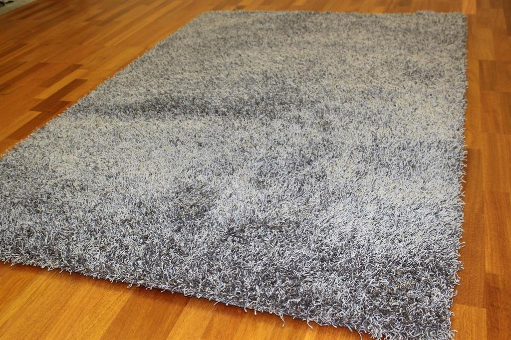 Tapis shaggy fancy gris - Tapis shaggy gris but ...