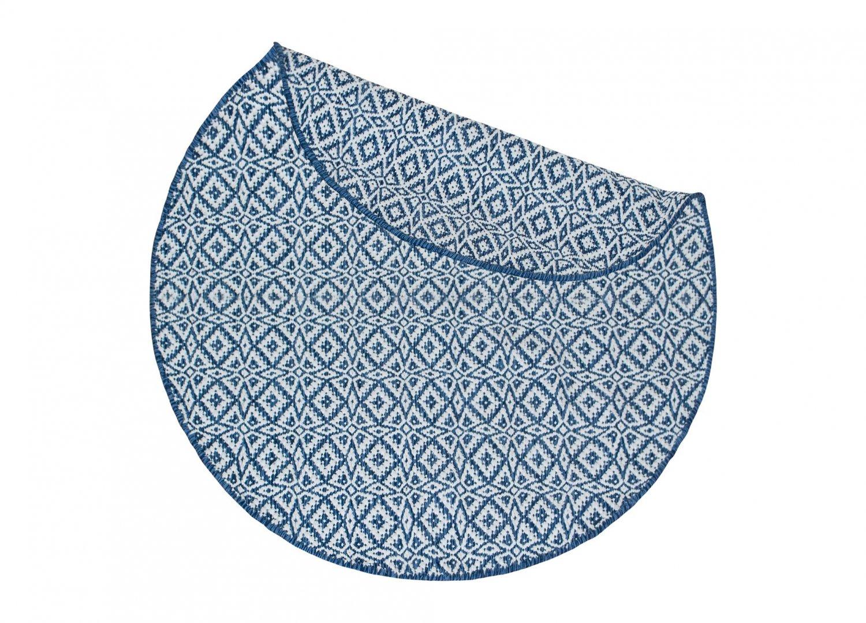 tapis rond koster bleu. Black Bedroom Furniture Sets. Home Design Ideas