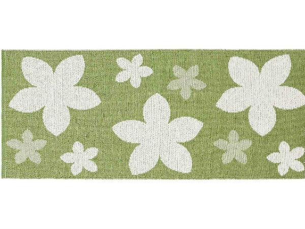 tapis en plastique le tapis de horred flower vert. Black Bedroom Furniture Sets. Home Design Ideas