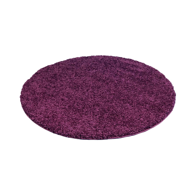 Tapis rond - Trim (violet) - Trendcarpet.fr