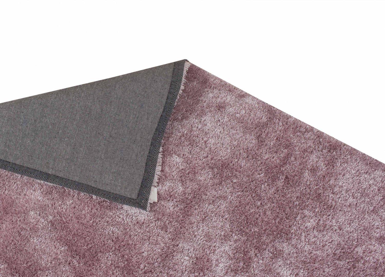 tapis shaggy cosy rose. Black Bedroom Furniture Sets. Home Design Ideas